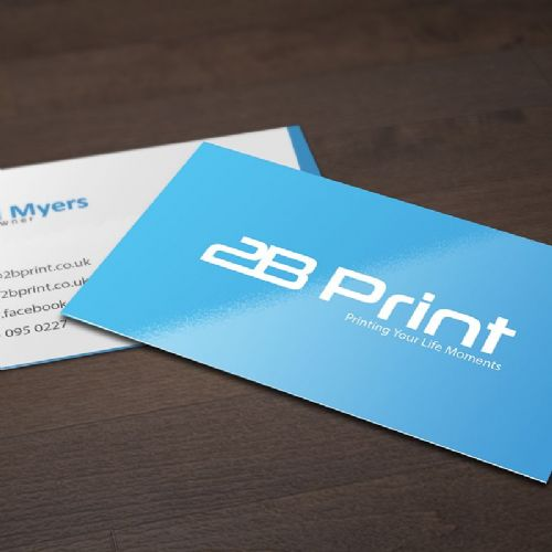Premium Silk Artboard 450gsm Business Cards